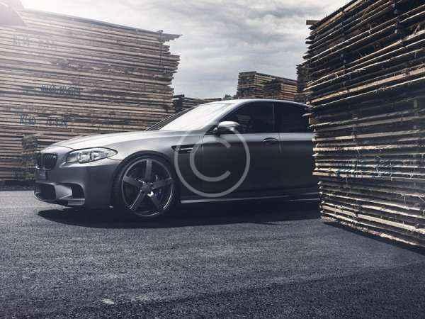 BMW M5 Styling with Lexani Wheels
