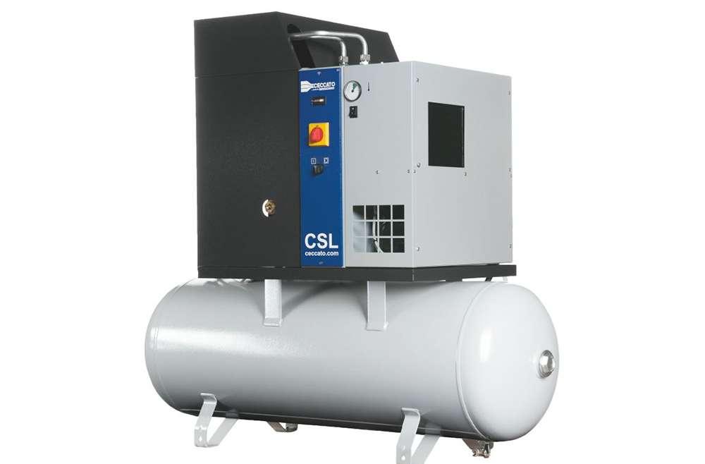 Compressori rotativi a vite con azionamento a velocità fissa